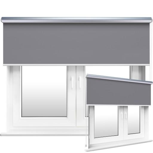 Roleta ścienna termiczna Silver podgumowana balkon
