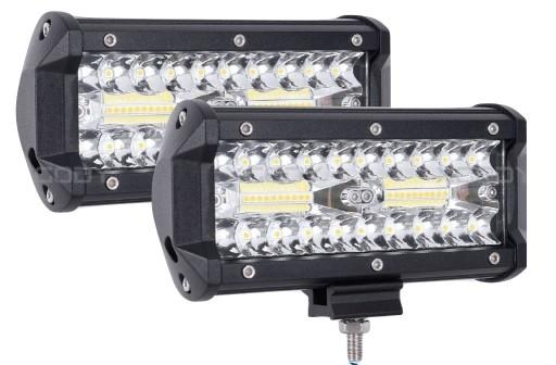 A SET 2 x HALOGEN WORKING LIGHT LED - 120W 10-30V