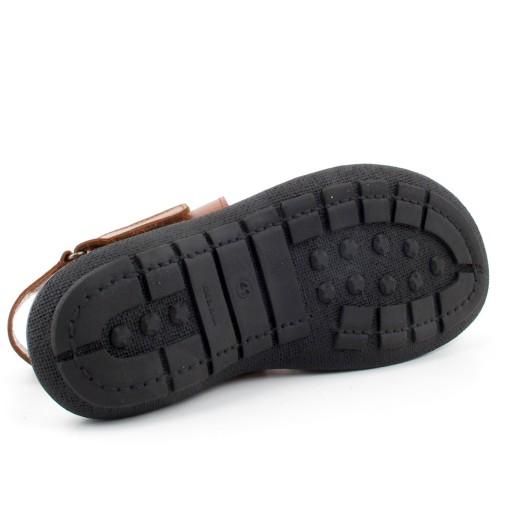 JUCARO 9078 brązowe sandały skóra rozm 43 8921901113