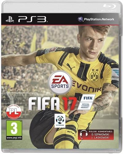 Nowa Gra PS3 FIFA 17 2017 Polski Komentarz DUBBING