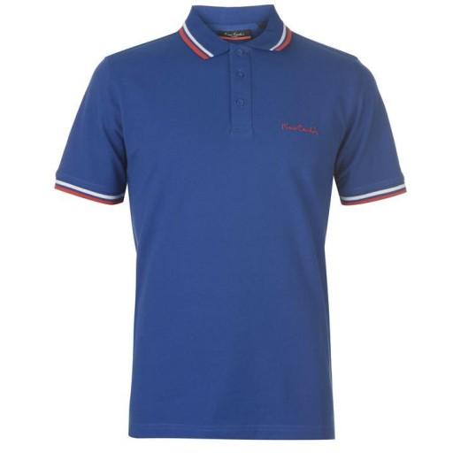 PIERRE CARDIN Koszulka Polo 100% Bawełna - L -