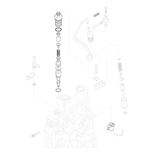 HATZ 01322220 SIURBLYS (POMPA) IPURSKIMO KOLEKTORIUS 1B20