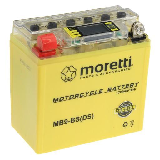 Akumulator Zelowy Lcd Mb9 Bs Yb9 Bs 9ah Moretti Rzeszow Allegro Pl