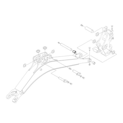 KUBOTA RB237-66570 TRAINS STEM EXCAVATORS KX018