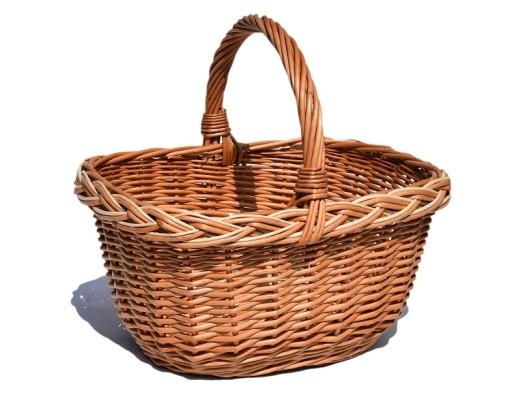 bf37fb549f7550 Kosz na zakupy WIKLINA koszyk na grzyby PREZENT 5328618412 - Allegro.pl