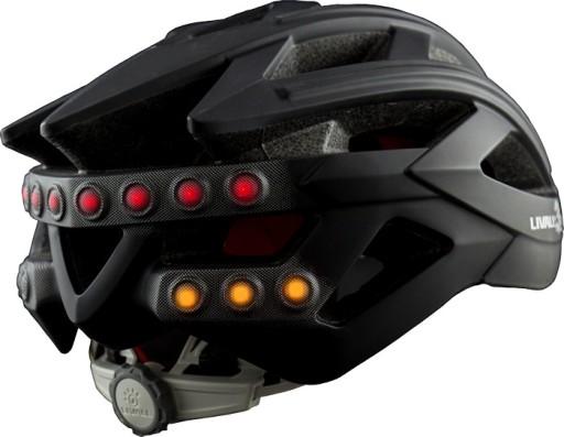 Kask MFI Urban czarny Bluetooth światła mp3 PROMO!