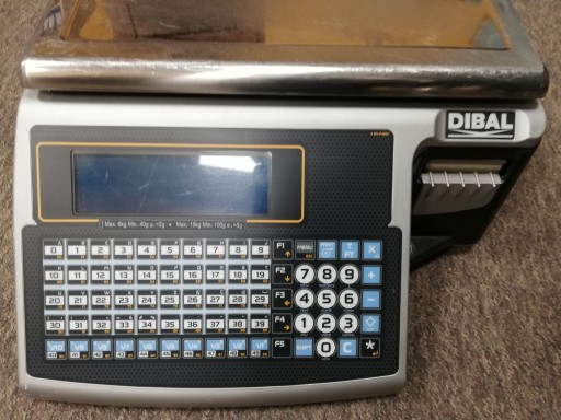 Waga Etykietujaca Elzab Dibal M525s 6 15kg Uzywana 8906243228 Allegro Pl