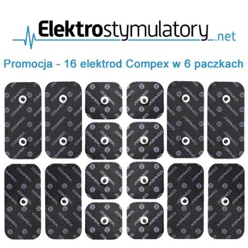 Zestaw Promocyjny 16 Elektrod Compex