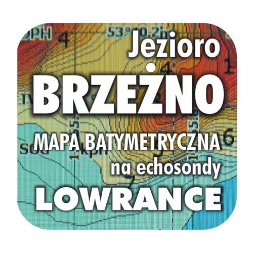 Jezioro Brzeżno mapa na echosondy Lowrance Simrad
