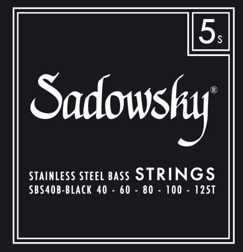 Struny Sadowsky SBS40B stalowe 40-125T BASSWORLD