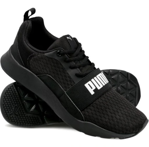 Buty PUMA Wired 366970 01 Puma BlackPuma BlackBlack