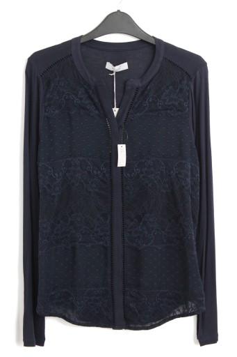 Bluzka koronkowa cienka zwiewna PER UNA 1820 42