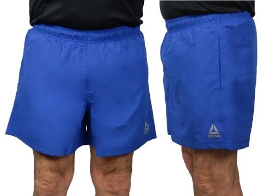 Reebok spodenki szorty męskie DU4008 niebieskie L
