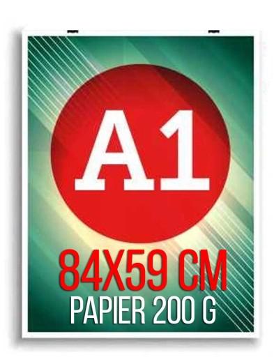 Plakat Plakaty A1 84x59cm wydruk Papier 200g 24h