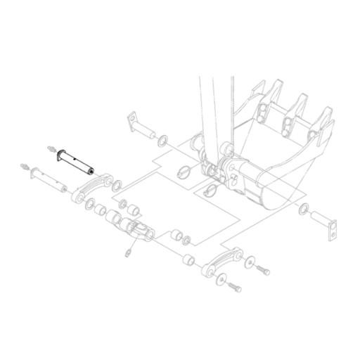 KUBOTA RG158-66752 HINGE SPOONS EXCAVATORS KX018