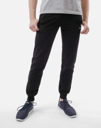 Spodnie Dresowe Męskie Dresy RENNOX 108 XL czarny 8156031631 Odzież Męska Spodnie NO ZAGBNO-4