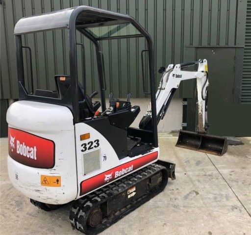 TRANSFERS BOBCAT 319 320 321 322 323 324 MINI