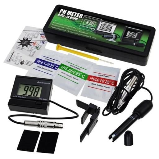 Miernik pH metr akwarystyczny PH-025RE + zasilacz