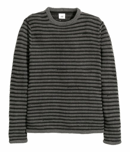 DAVID BECKHAM BLACK SWETER H&M BLUZA MENS HIT 8980612820 Odzież Męska Swetry CT UWHECT-4