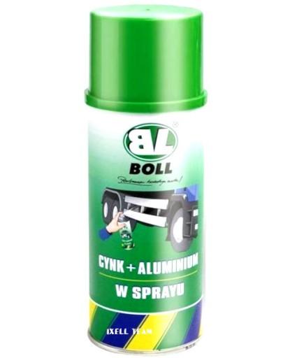 ANTYKOROZJA CYNK + ALUMINIUM SPRAY 400 ml BOLL 755