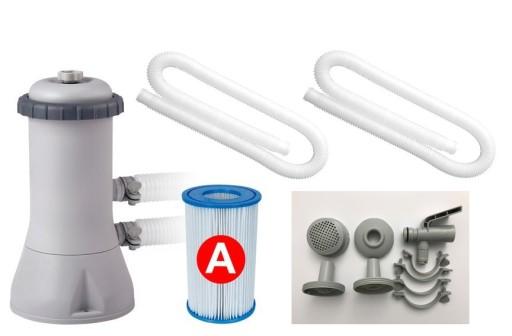 Pompa Filtrujaca 3785 L H Filtr Basen Intex 28638 7606359433 Allegro Pl