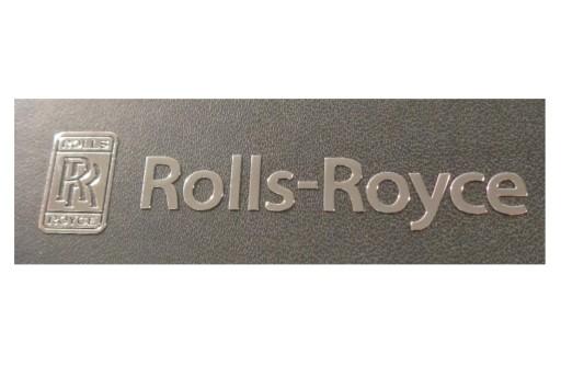 218b NAKLEJKA ROLLS - ROYCE Metal Edition 64x15 m