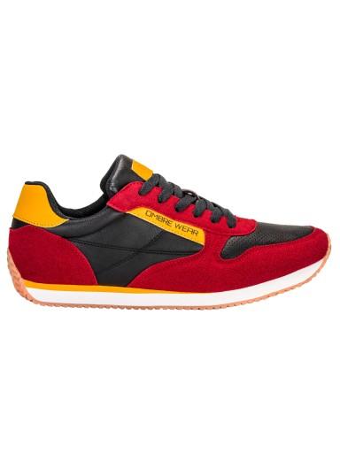 Buty męskie sneakersy adidasy T310 czerwone 42