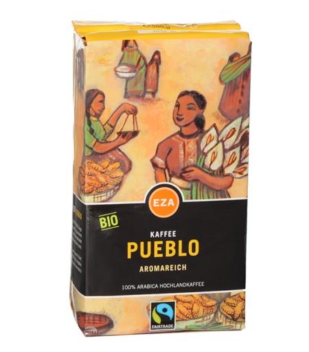 Kawa organiczna Pueblo mielona 500g Fairtrade