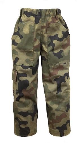 Spodnie Dzieciece Wojskowe Wytrzymale Moro R 134 7982695729 Allegro Pl