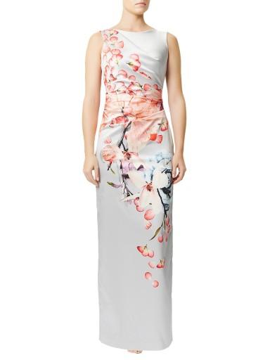 MARGOSTYL OUTLET sukienka w kwiaty Phase Eight 40