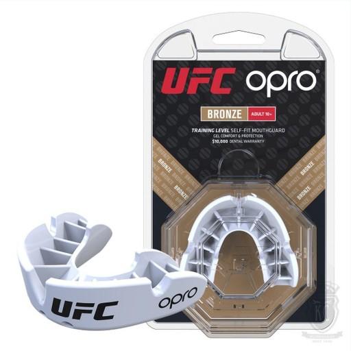 OPRO UFC SZCZĘKA OCHRANIACZ NA ZĘBY BRONZE PUDEŁKO