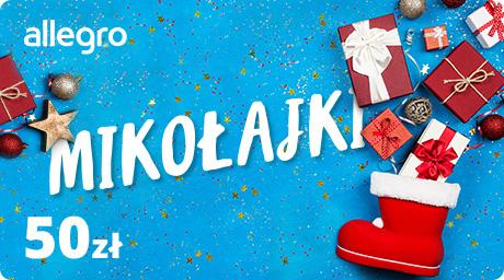 Karta Podarunkowa Mikołajki - 50 zł