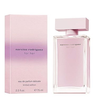 narciso rodriguez for her delicate