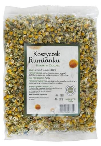 Herbatka ziołowa Koszyczek rumianku 100g