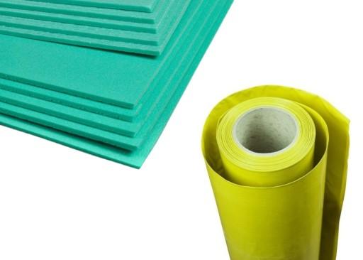 Podklad 5mm Pod Panele Xps Folia Paroizolacyjna 8450069810 Allegro Pl