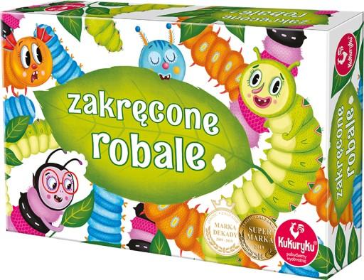 Rodzinna Gra Planszowa Zakrecone Robale 63834 8503176018 Allegro Pl