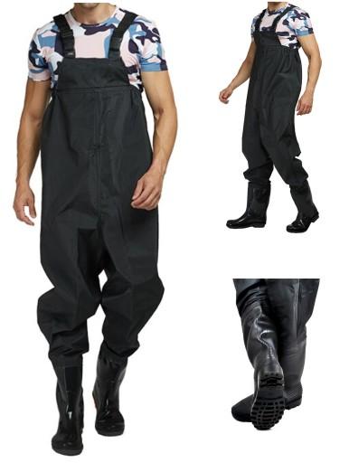Wodery Spodniobuty Spodnie Wedkarskie 41 Szelki 8438513426 Allegro Pl