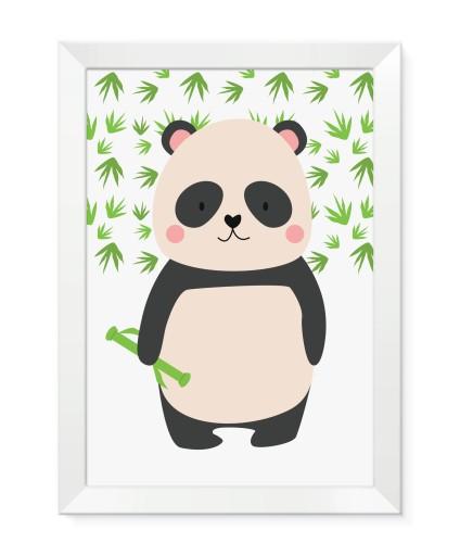 Obrazki plakaty grafiki dla dzieci ze zwierzątkami