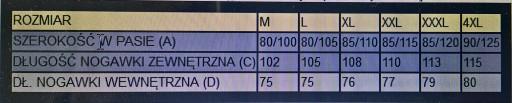 SPODNIE DRESOWE ŚLISKIE roz. 4XL GRANAT 8857979594 Odzież Męska Spodnie DC LRALDC-7