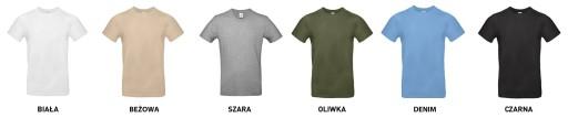 koszulka na URODZINY - 30 - 40 - 50 - 60 UR71 M 9052577105 Odzież Męska T-shirty HN YCPGHN-4