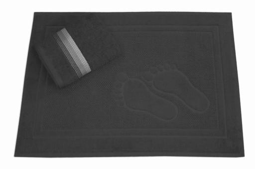 Dywanik łazienkowy Feet + ręcznik 50x90 Greno