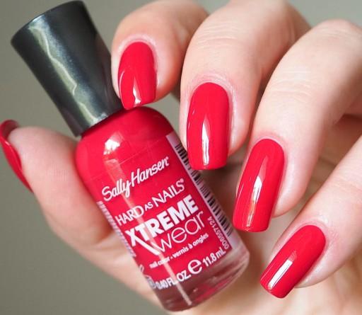 Sally Hansen Lakier Xtreme Wear Cherry Red 289 8074965799 Allegro Pl