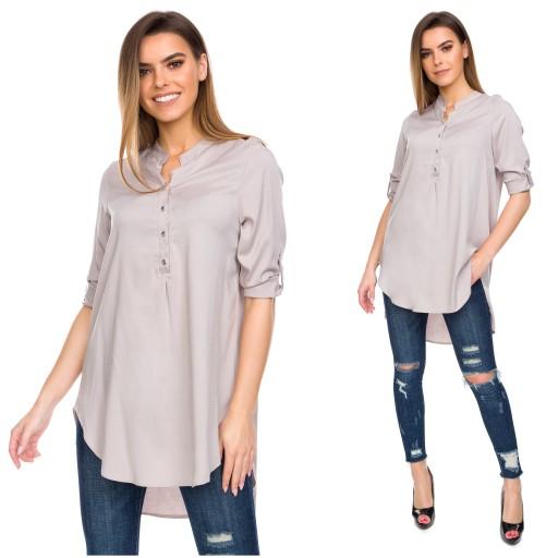 Długa asymetryczna koszula | Zara, Moda dziecięca i Moda