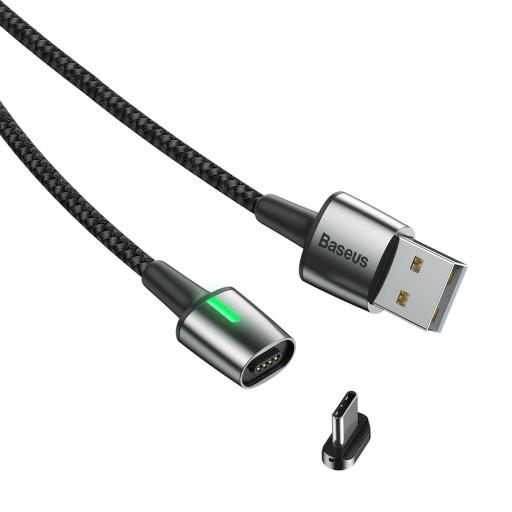 Baseus szybki kabel magnetyczny USB Type-C 3A 1M