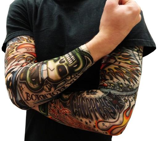 Tatuaż Rękaw Sleeve Kawalerski Tatuaże Dużo Wzorów