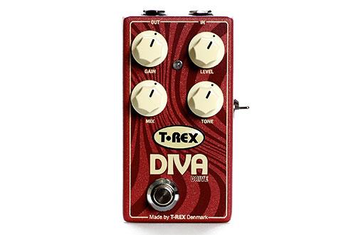 Efekt gitarowy typu overdrive T-Rex DIVA DRIVE