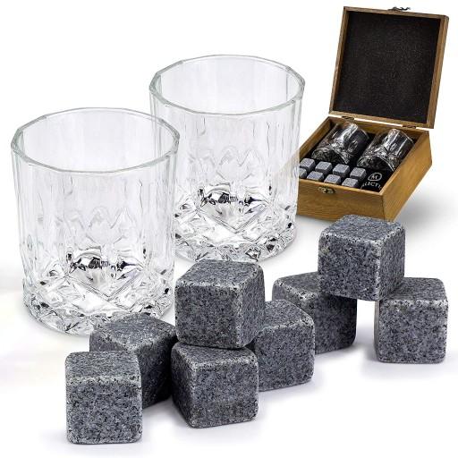 Kamienne Kostki Do Drinkow Whisky Stones 18 Szt 8643761129 Allegro Pl