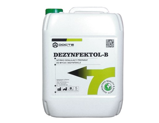 Środek płyn do mat dezynfekcyjnych, DEZYNFEKTOL B