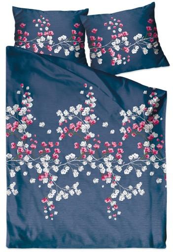 Pościel satyna bawełna 160x200 Bielbaw Kyoto Night
