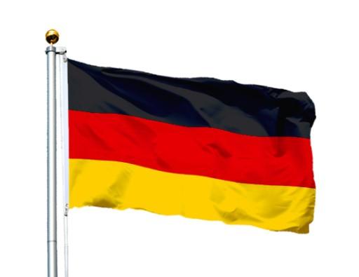 Flaga Niemcy 150x90 cm Niemiec Niemiecka Germany 5042364361 ...